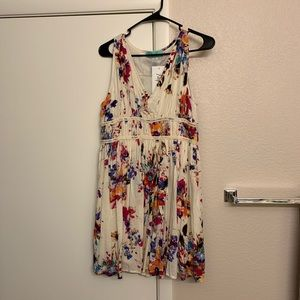Brighter than the Sun Floral Dress